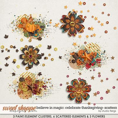Believe in Magic: Celebrate Thanksgiving Scatterz by Studio Flergs