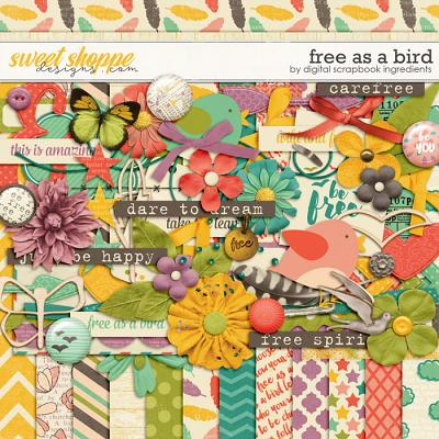Free As A Bird by Digital Scrapbook Ingredients
