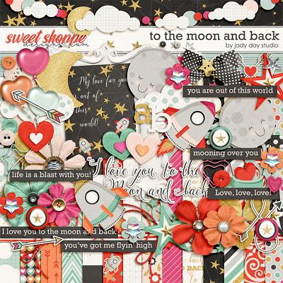 To The Moon And Back by Jady Day Studio