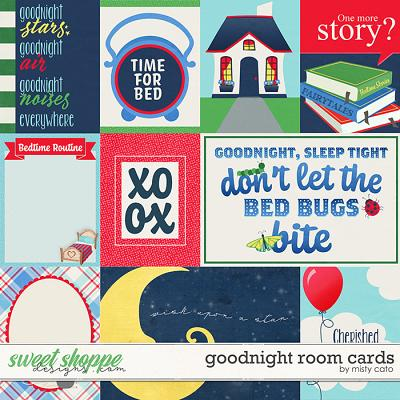 Goodnight Room Cards by Misty Cato