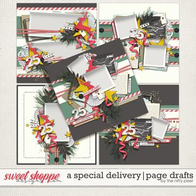 A SPECIAL DELIVERY | PAGE DRAFTS by The Nifty Pixel
