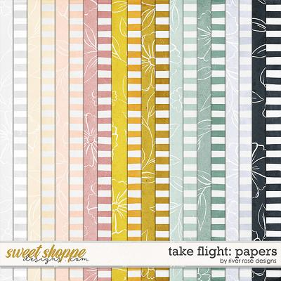 Take Flight: Papers by River Rose Designs