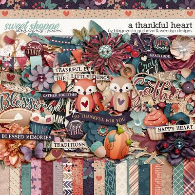 A thankful heart by Blagovesta Gosheva & WendyP Designs