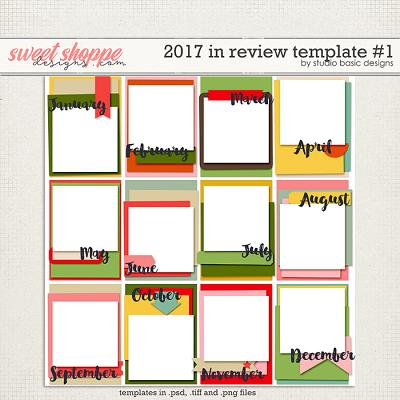 2017 In Review Template #1 by Studio Basic