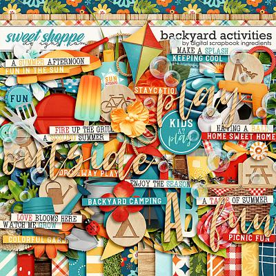 Backyard Activities by Digital Scrapbook Ingredients