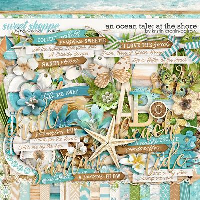 An Ocean Tale: At the Shore by Kristin Cronin-Barrow