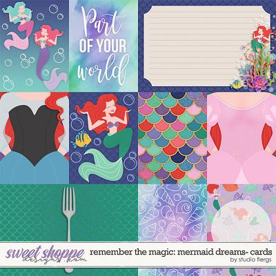 Remember the Magic: MERMAID DREAMS- CARDS by Studio Flergs