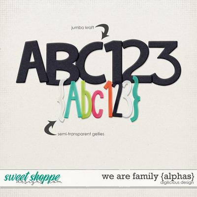 We Are Family {Alphas} by Digilicious Design