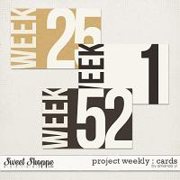Project Weekly : Cards by Amanda Yi