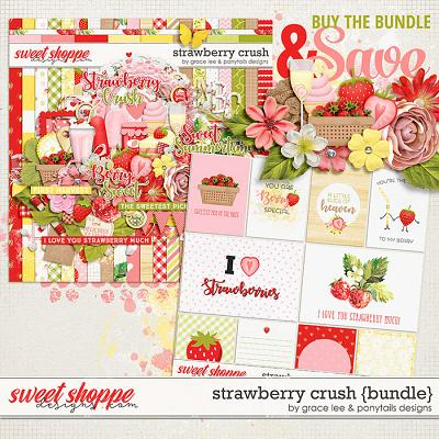 Strawberry Crush: Bundle by Grace Lee and Ponytails Designs
