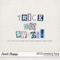 *FREE with your $20 Purchase* 2015 Mystery Bag by Sweet Shoppe Designs