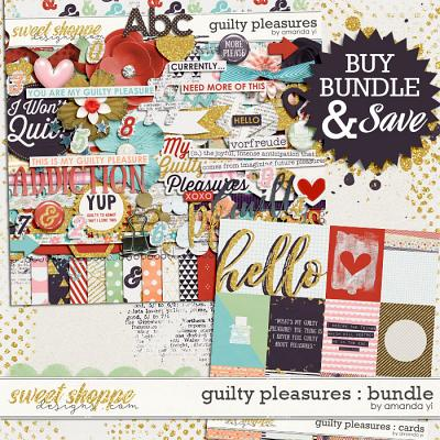 Guilty Pleasures : Bundle by Amanda Yi