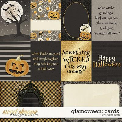 Glam-o-ween: CARDS by Studio Flergs