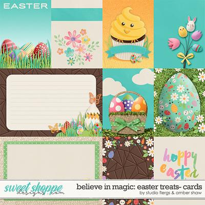 Believe in Magic Easter Treats: Cards by Amber Shaw & Studio Flergs