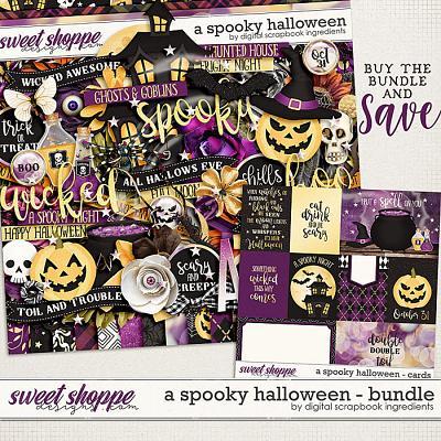 A Spooky Halloween Bundle by Digital Scrapbook Ingredients
