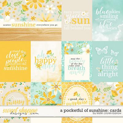 A Pocketful of Sunshine: Cards by Kristin Cronin-Barrow