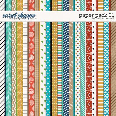 Paper Pack 01 by Melissa Bennett