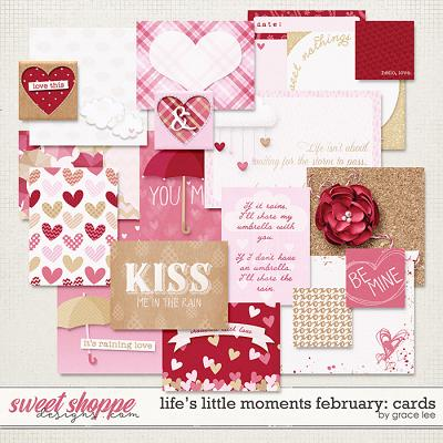 Life's Little Moments February Cards by Grace Lee