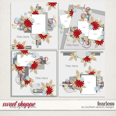 Fearless Layered Templates by Southern Serenity Designs