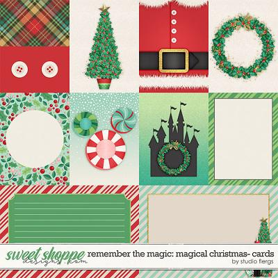 Remember the Magic: MAGICAL CHRISTMAS- CARDS by Studio Flergs