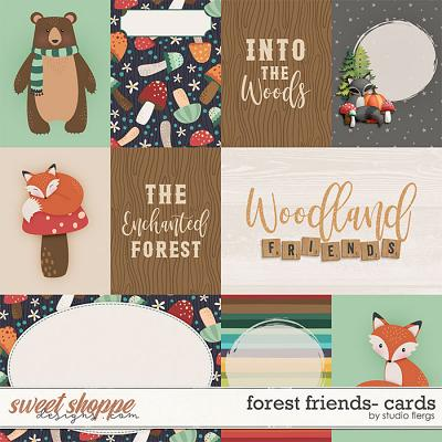 Forest Friends: CARDS by Studio Flergs