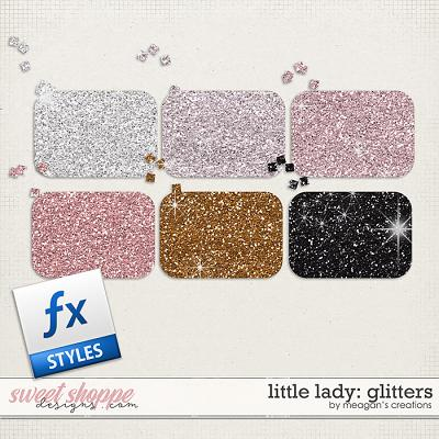 Little Lady: Glitters by Meagan's Creations