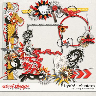 Hi-Yah! : Clusters by Meagan's Creations