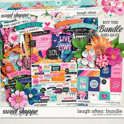 Laugh Often Bundle by Kristin Cronin-Barrow