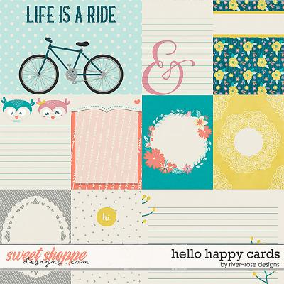 Hello Happy Cards by River Rose Designs