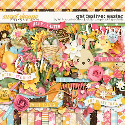 Get Festive: Easter Kit by Kristin Cronin-Barrow & Digital Scrapbook Ingredients