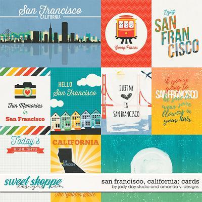 San Francisco, California : Cards by Jady Day Studio & Amanda Yi