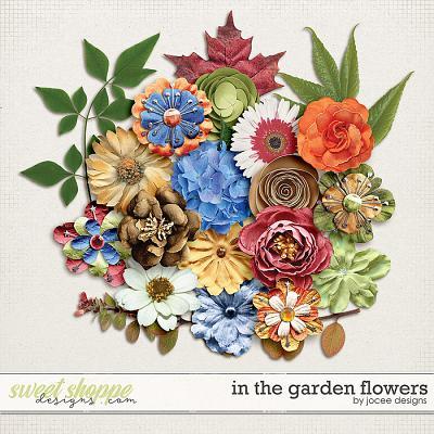 In the Garden Flowers by JoCee Designs