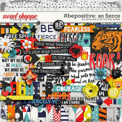 #Be Positive: So Fierce Kit by Amanda Yi & Two Tiny Turtles