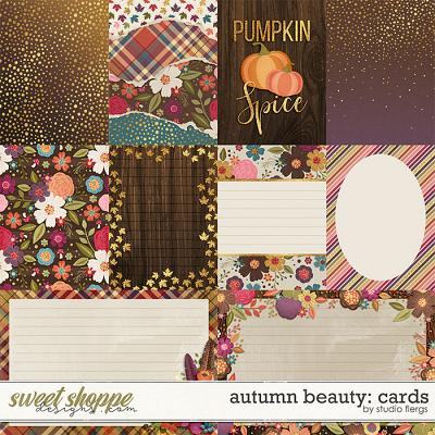 Autumn Beauty: CARDS by Studio Flergs