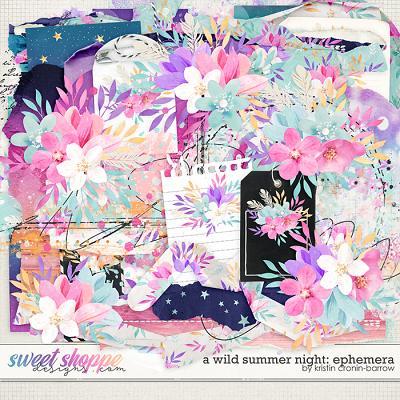 A Wild Summer Night: Ephemera by Kristin Cronin-Barrow