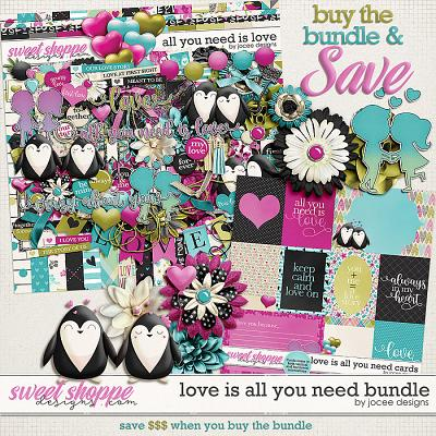 All You Need is Love Bundle by JoCee Designs