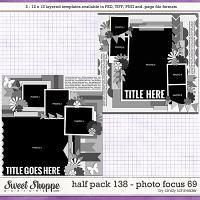 Cindy's Layered Templates - Half Pack 138: Photo Focus 69 by Cindy Schneider