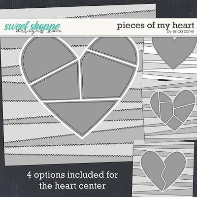 Pieces of my Heart Template by Erica Zane