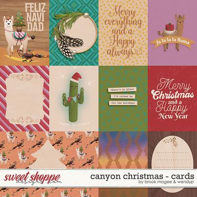 Canyon Christmas - Cards by Brook Magee & WendyP Designs