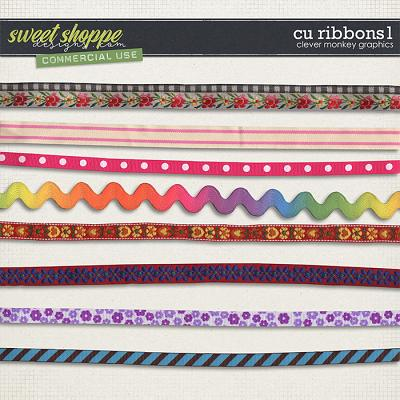 CU Ribbons 1 by Clever Monkey Graphics