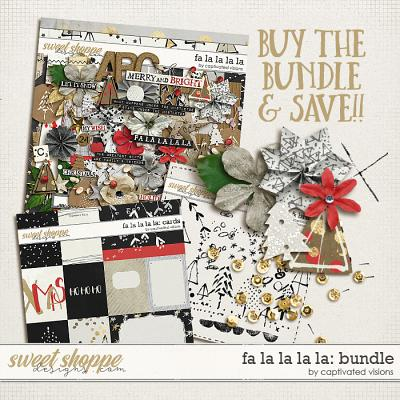 Fa la la la la: Bundle by Captivated Visions
