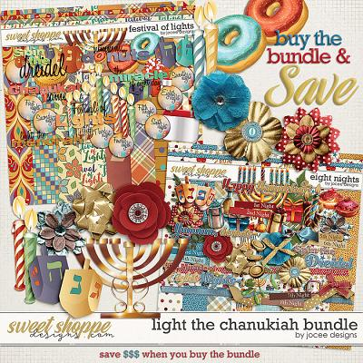 Light the Chanukiah Bundle by JoCee Designs