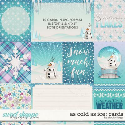 As Cold As Ice: CARDS by Studio Flergs