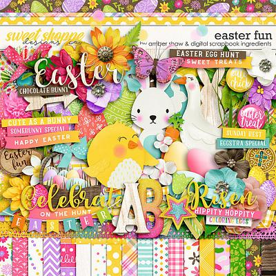 Easter Fun by Amber Shaw & Digital Scrapbook Ingredients