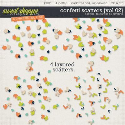 Confetti Scatters {Vol 02} by Christine Mortimer