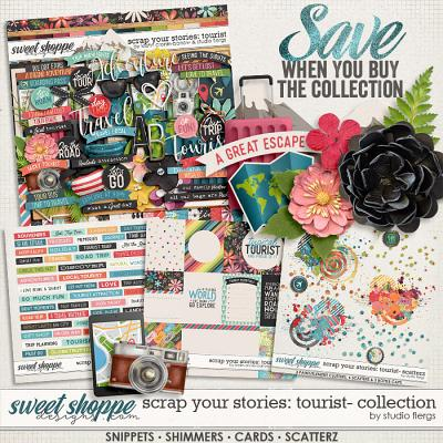 Scrap Your Stories: Tourist- COLLECTION by Studio Flergs & Kristin Cronin-Barrow