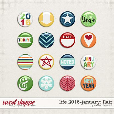Life 2016-January: Flair by Melissa Bennett