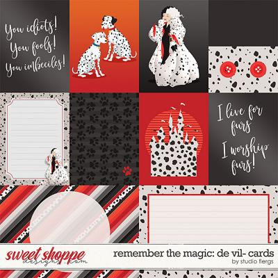 Remember the Magic: DE VIL- CARDS by Studio Flergs