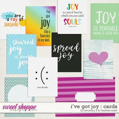 I've Got Joy: Cards by Amanda Yi & Heather Roselli