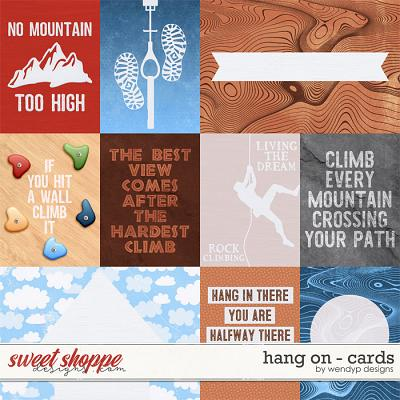 Hang on - Cards by WendyP Designs